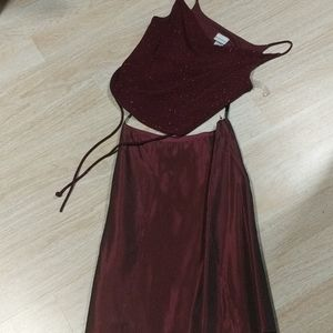Two piece Evening Top and Skirt
